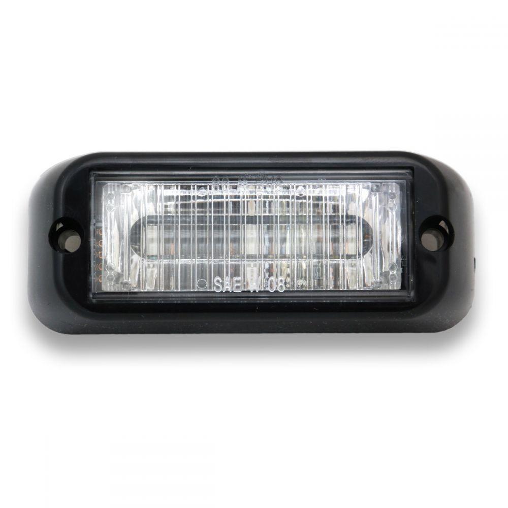 Led Emergency Vehicle Lighting Products: Edge 3 LED Grille Emergency Vehicle Warning Strobe Light