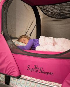 The Safety Sleeper Promotes Healthy Sleep Habits