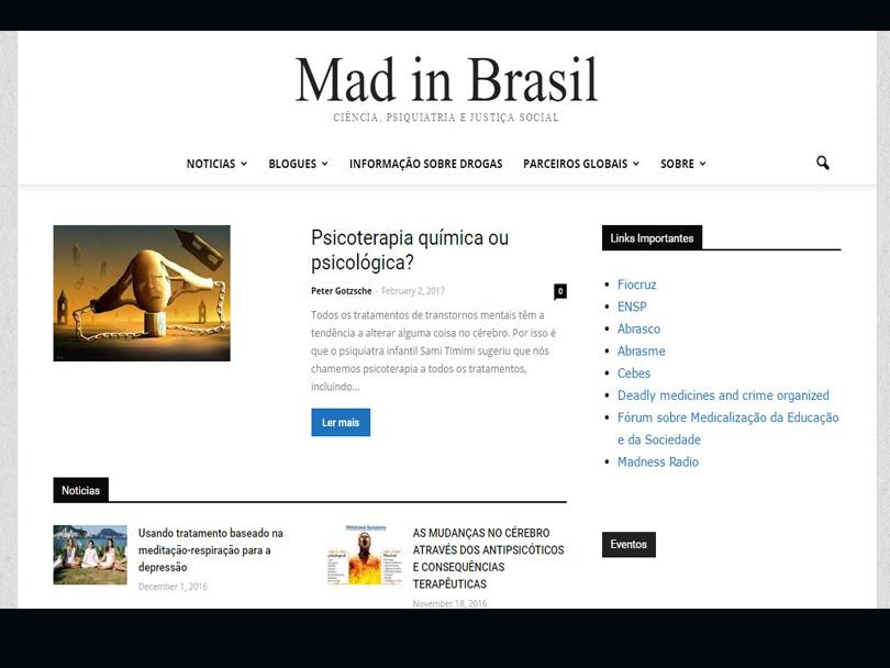 Mad in Brasil: Um portal no debate da medicalização e da justiça social
