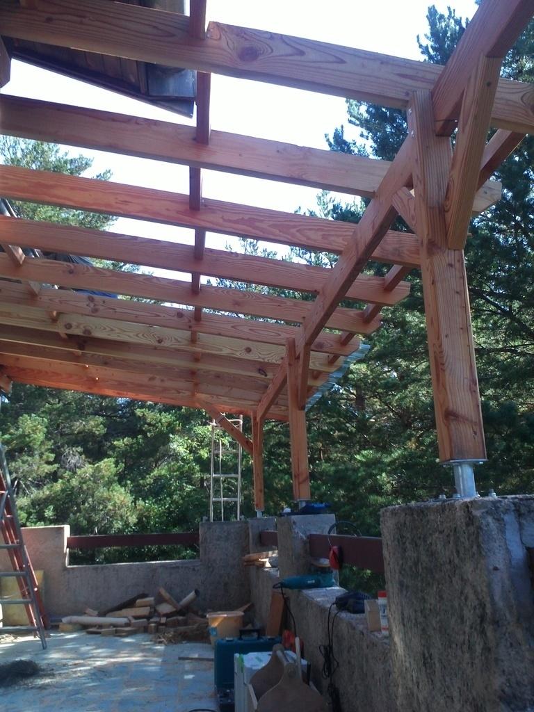 Couverture Pour Pergola En Bois - abri jardin bois France