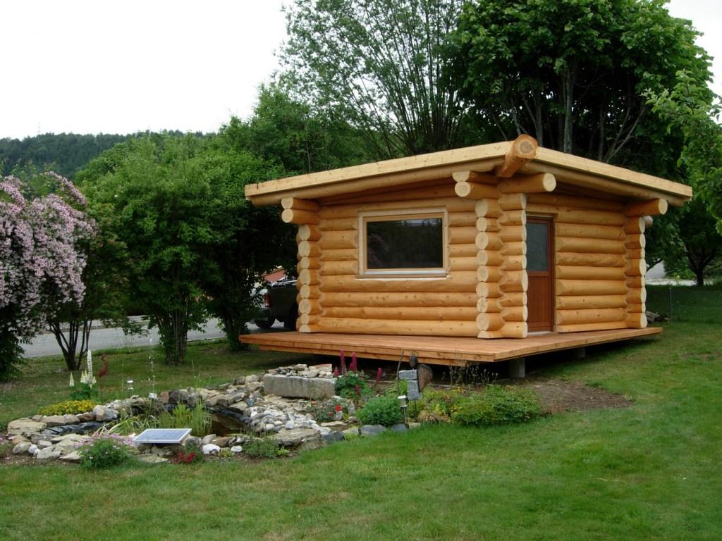 maison jardin bois