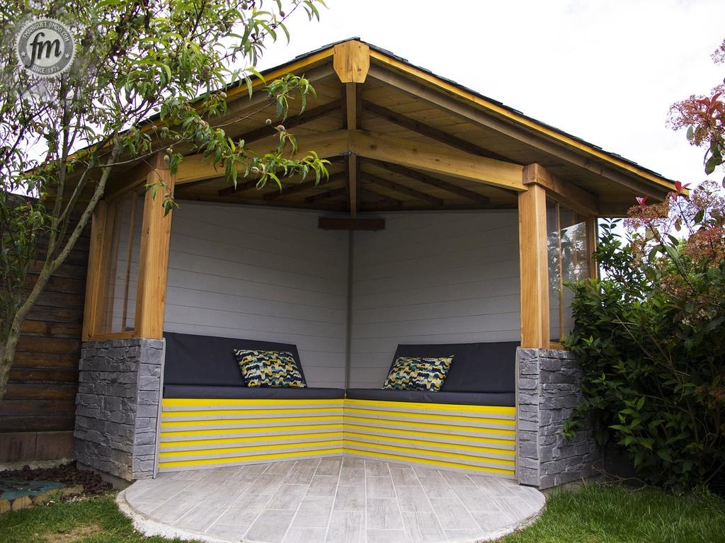 pergola de jardin en bois abri jardin bois france. Black Bedroom Furniture Sets. Home Design Ideas