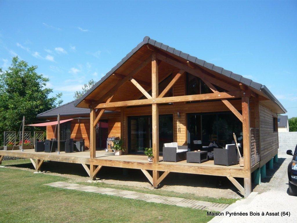 prix maison bois plain pied