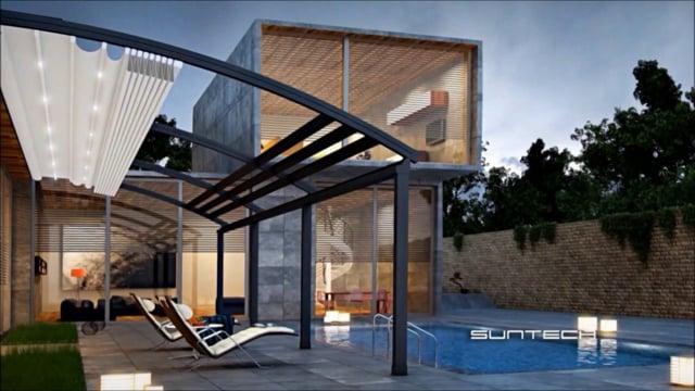 store retractable pour pergola abri jardin bois france. Black Bedroom Furniture Sets. Home Design Ideas