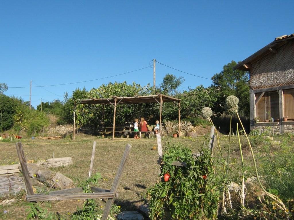 tonnelle jardin bois