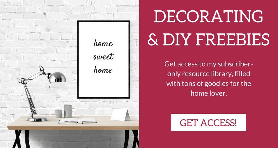 Free Decor & DIY Resources