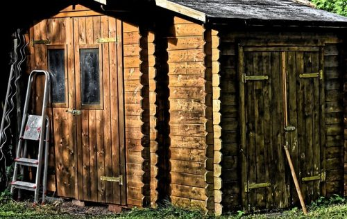 quelle toiture pour abri de jardin bois
