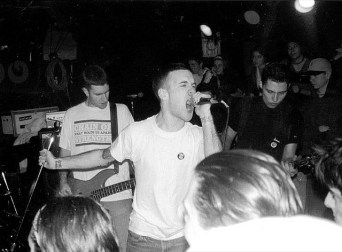 The Swarm's first show. December 31st 1997 at the El Mocambo in Toronto. Photo courtesy of East Beast.
