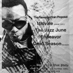 July 31st 1998 at Stalag 13 (Philadelphia, PA) Dead Season with The Passenger Train Proposal, Penfold, Midvale, The Jazz June and Endeavor. Photo courtesy of Mike Calder