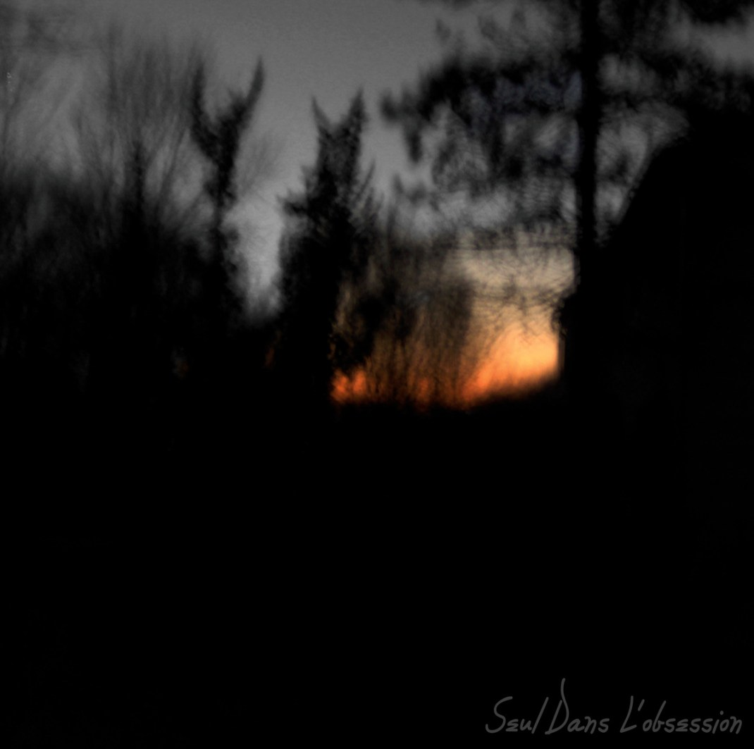"""Vision Eternel """"Seul Dans L'obsession"""" EP. Released February 14th 2007 on Mortification Records (MT008)."""