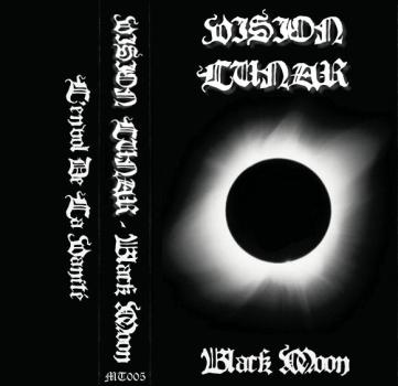 "Vision Lunar ""Black Moon"", Mortification Records (MT005), December 6th 2006. Original artwork design."
