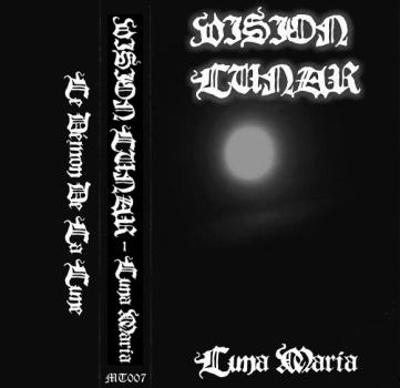 "Vision Lunar ""Luna Maria"", Mortification Records (MT007), February 2nd 2007. Original artwork design."
