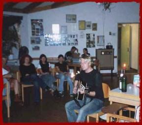 Chris Gray performing in Leverkusen, Germany, August 8th 2002
