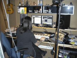 "Vanya producing ""Into the Flood"", circa January 10th 2010."