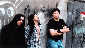 Breaking Violet's promotional photoshoot on May 14th 1996. Outside of H.Q. Studio. Photos courtesy of Paolo Gattola.
