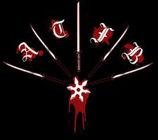 A Taste for Blood logo during the promo 2004 era.