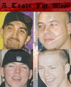 Promotional band picture, composite of the August 2004 concert picture and the 2004 promo logo.