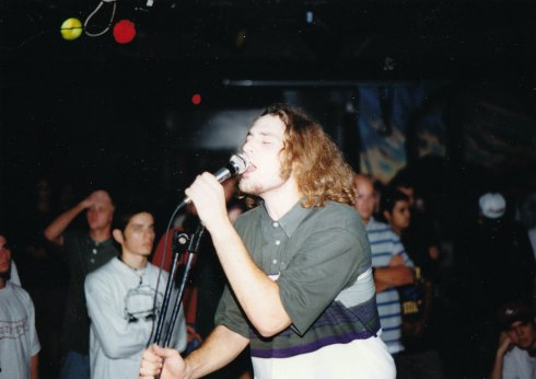 Roosevelt playing live, circa 1995. Notice Damien Moyal in front row