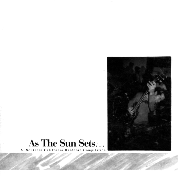 AOWW002 As the Sun Sets - A Southern California Hardcore Compilation, CD late 1999