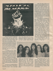 Ace Magazine, June 1992 issue featuring a Boize interview and EP review.