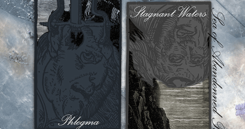 """Phlegma & Stagnant Waters """"Sea of Abandoned Polaroids"""" split. Released August 24th 2009 on Abridged Pause Recordings (APR2)."""