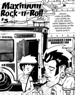 Maximum Rock N Roll Issue #199, December 1999.