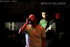 Bird of Ill Omen live at Churchill's Pub, Miami, Florida. September 16th 2012.