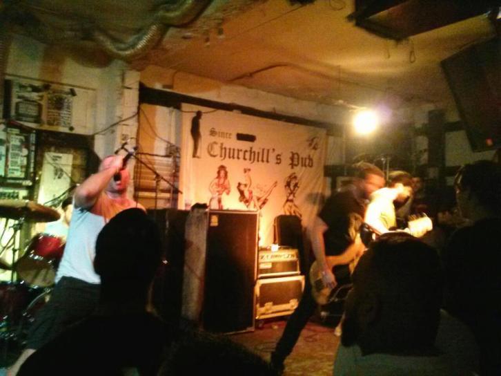 Bird of Ill Omen live at Churchill's Pub, Miami, Florida. September 16th 2012.