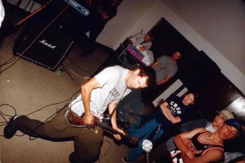 Dead Season at Munn's United Church for the Oakville Hardcore Festival/Southern Ontario Hardcore Fest (SOHC). May 14th 1999.