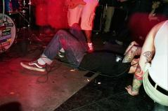The Swarm's last show ever. March 26th 2000 at the Kathedral in Toronto. Photo courtesy of Mark Miller.