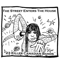"""""""The Street Enters the House"""" compilation, Fans of Bad Productions Records, summer 2000"""