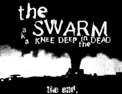 The Swarm t-shirt design by Element Records. Front side