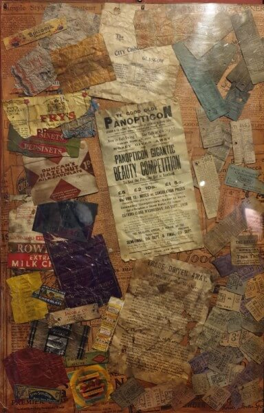 A playbill and other papers from the Britannia Panopticon