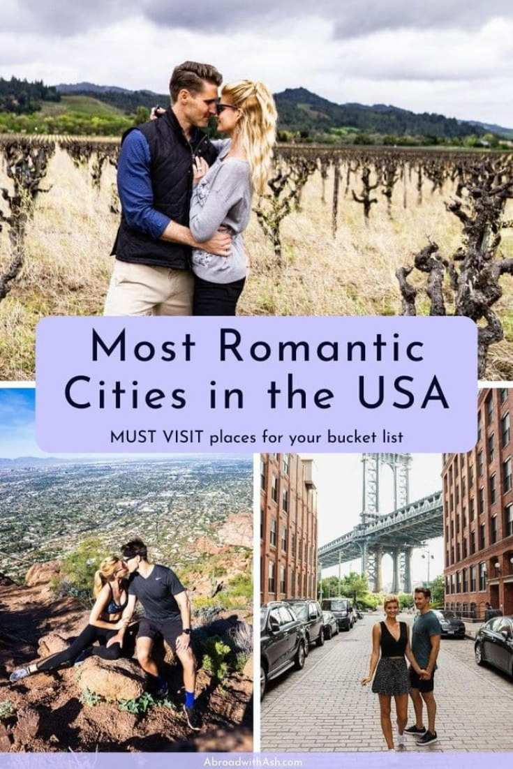 most romantic cities in the USA