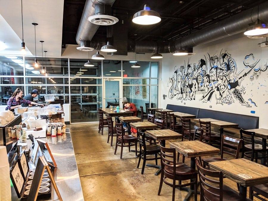 Avoca Coffee Fort Worth Foch Street