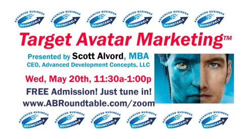 Target Avatar Marketing by Scott Alvord of Advanced Development Concepts