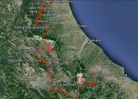 In Abruzzo in Bicicletta