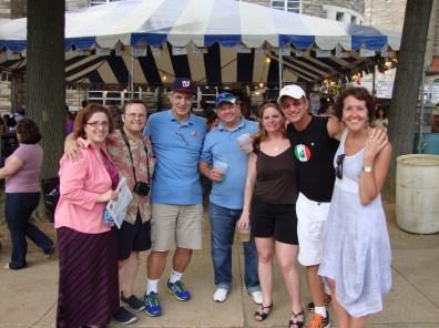 Gli amici at St Anthony Festival