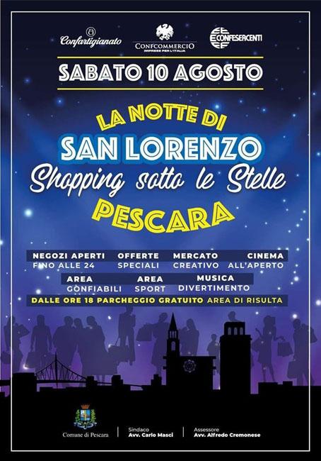 La Notte Di San Lorenzo A Pescara Il Programma