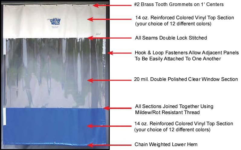 curtain walls abs air filter paint