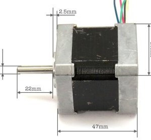 PX245M-01M 42 stepper Motore 1.2A DIY engraving machine two-phase 4-wire 6 wire 3D printer