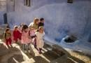 Bild des Tages: Kinder in der marokkanischen Stadt Chefchaouen