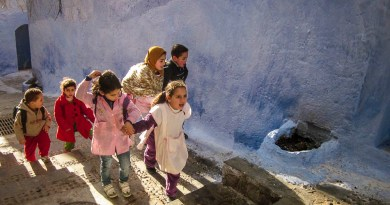 Kinder in Chefchaouen