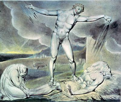 Book of Job, illustration by William Blake