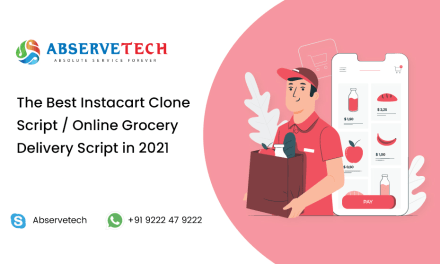 The Best Online grocery delivery script / Instacart clone in 2021