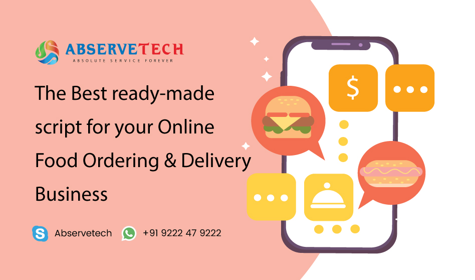 The best ready-made script for your online food ordering and delivery script