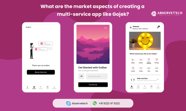 What are the market aspects Of creating A multi-service app like gojek?