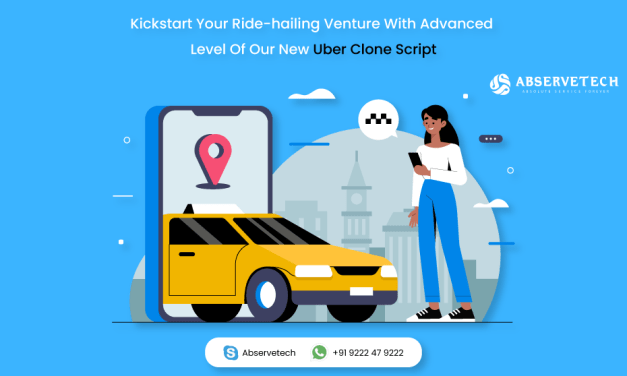Kickstart Your Ride-hailing Venture With Advanced Level Of Our New Uber Clone Script