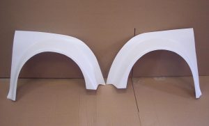 Race spec wheel arches