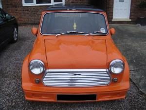 Turbo Kit Front Orange 2